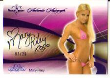 2008 Benchwarmer  Purple   Mary Riley  Autograph 07/25
