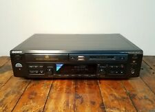 Sony Mxd-D40 Compact Disc Cd to MiniDisc Recorder Player Deck
