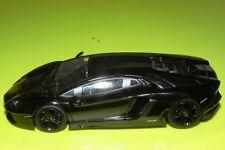 Mattel Hot wheels Elite 1/43 Lamborghini Aventador Black V7430