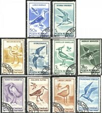 Romania 4642-4651 (complete issue) used 1991 Birds