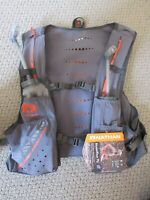 New Mens Nathan VaporKrar Hydration Pack 4L Race Vest Running Small Steel Grey