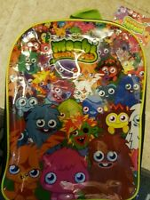 NEW MOSHI MONSTER CHILDS SCHOOL BAG