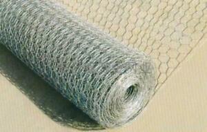 Wire Netting Chicken Rabbit Wire Mesh 600 / 900 / 1200 / 10m / 25m / 50m