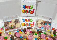 Chocolate Prefilled Happy Birthday Sweet Box Unisex Party Cones Alternative