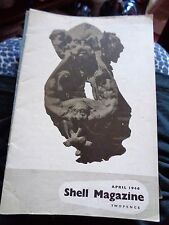 JUST POST WW2 SHELL MAGAZINE APRIL 1946 ILLUSTRATED THE MOSQUITO AEROPLANE