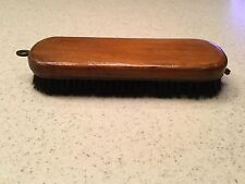 "Vintage Wood Handled Clothing Furniture Grooming Brush Used 6.25"" long"