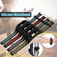 Replacement Silicone Watch Band WristBand Strap For Garmin Vivosmart HR Bracelet