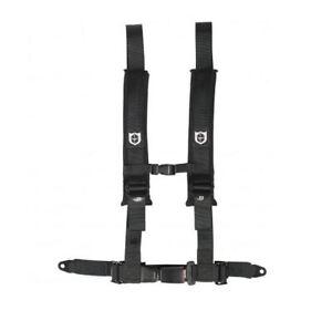 "Pro Armor Seat Belt Harness 4 Point 2"" Black Automotive Latch Yamaha Rhino YXZ"