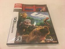 Disney Pixar: Up (Nintendo DS, 2009) NEW MARIO STYLUS BONUS Very Rare HTF