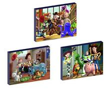 3 x TOY STORY CANVAS ART BLOCKS/ WALL ART PLAQUES/PICTURES