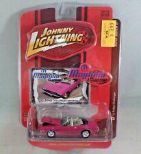 Johnny Lightning Mopar Mayem '71 Dodge Challenger Convertible NIP 1:64 Pink 2008
