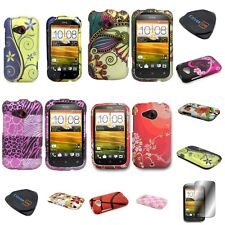 For HTC Desire C / Wildfire C - Hard Protective Snap On Design Cover Case
