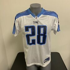 Chris Johnson Tennessee Titans Reebok NFL Football Jersey YOUTH BOYS XL 18-20