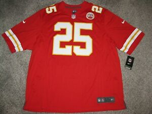 Jamaal Charles Kansas City Chiefs Mens 3XL Red Nike Game Jersey