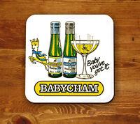 Babycham retro 'Beermat' - Baby you've got it