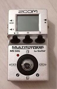 Pédale de guitare Zoom MS-50G + câble officiel