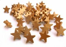 50 Gold Star Thumbtacks or Push Pins, for Weddings, Parties, Showers