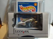 Hot Wheels Lexmark White Scorchin Scooter