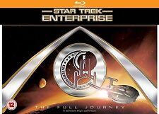 Star Trek Enterprise Blu-Ray The Full Journey Complete Series Collection box Set