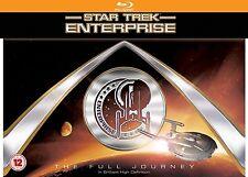Star Trek Enterprise Blu-Ray The Full Journey Complete Series Collection box Set