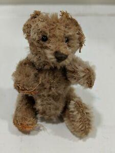 "Early Antique Miniature Steiff?? Jointed 3"" Teddy Bear"