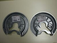 Rear Brake Disc back protection plate LEFT and RIGHT VW Touran / Golf 5 / Golf 6