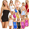 Sexy Women Ladies Bodycon Slim Fit Pencil Short Mini Dress Party Skirt Clubwear