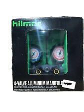 New listing Hilmor 1839111 R410A 4V410 - 4-Valve Manifold without Hoses