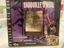 SEALED Shaquille O'Neal 1996 Classic 23-KARAT Gold Card - Still In box from 1996