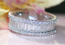 Exquisiter Diamanten Memory Ring mit Brillanten 2.61 ct. TW-VS1/SI Weißgold 750