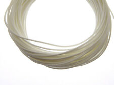 10m gewachste Polyester Kordel weiß 1mm (1125)