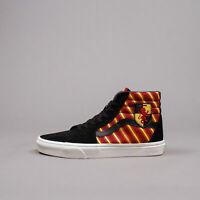 Vans Sk8-Hi x Harry Potter Gryffindor Black Men Limited New Rare VN0A4BV6XK8
