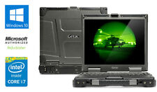 "GETAC B300 13"" ULTRA RUGGED LAPTOP 8GB RAM INTEL i7 2.8 GHz 1TB HDD WIN 10 DVD"