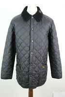 BARBOUR Black Quilted Jacket size M AO