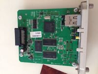 T60N862 NETWORK Printserver FOR EPSON  EU-113  4800 9800 9600 REV:2