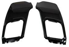 Paire Pare-chocs arrière Insert Tow Eye Panneaux En Noir Pour Range Rover font dynamique