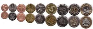#2 - Malawi _ set 9 coins 1 2 5 10 20 50 Tambala 1 5 10 Kwacha 1996 - 2006 aUNC