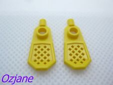 LEGO PART 30284 YELLOW MINIFIGURE FOOTWEAR SNOW SHOE ARCTIC X2 NEW