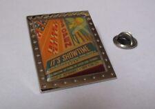 pin's tennis / affiche de l'US Open championships 2008 - it's showtime - 40 ans