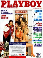 JERRY SEINFELD Signed Autographed magazine PSA # F87714