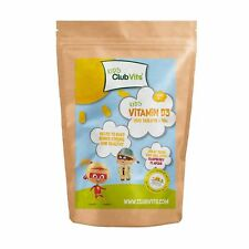 Club Vits Kids -Vitamin D3 1200 Chewable Tablets