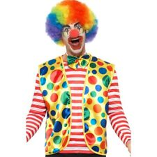 Clown Kit à Pois Gilet + Noeud Cravate Costume pour Hommes Femme Déguisement