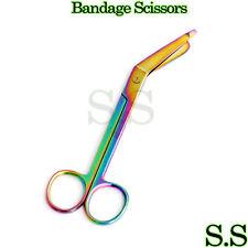 Heavy Duty 1 Lister Bandage Nurse Scissors 55 Titanium Color Rainbow