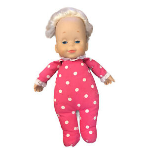 Mattel Drowsy Doll Classic Collection DOES NOT TALK Vtg Vinyl Head Hands Cloth