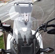 Motorcycle Windshield Airflow Adjustable Windscreen Wind Deflector For BMW KTM