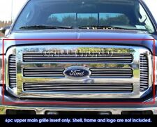 Fits 2005-2007 Ford F250/F350 Super Duty/Excursion Billet Main Upper Grille