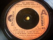 """THE RUBETTES - ROCKIN' RUBETTES PARTY 45  7"""" VINYL"""