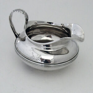 Irish Creamer William Nolan Sterling Silver Dublin 1829 Crests
