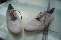 Classy Maripe Ladies Shoes Scnürschuhe Leather Luxury Gr.37, 5 Silvery Like New