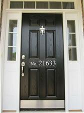 house number for door, mailbox, tile... vinyl decal